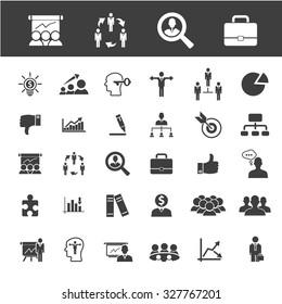 career, job, headhunter icons