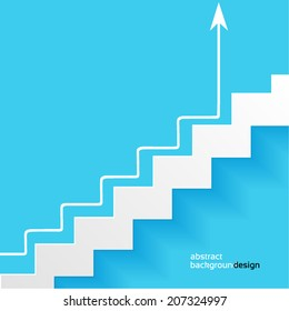 career ladder, abstract background design