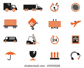 Cargo shipping symbols