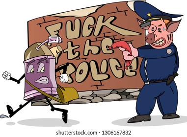 Cop Pig Images Stock Photos Vectors Shutterstock