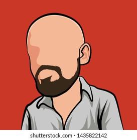 Bois Crâne Avec Chauve-souris Graphique Homme Tee-image par shutterstock