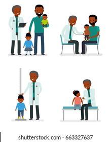 Sick African American Family Stock Vectors Images Vector Art Shutterstock