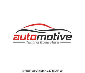 Carlines flat color logo template