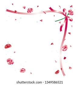 Carnation/Bouquet of carnation/ Carnation flower petals