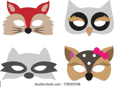 Carnival animal mask