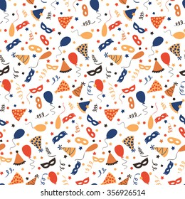 Carnival background - seamless pattern
