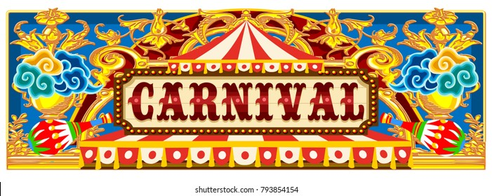 Carnival Theme Images Stock Photos Vectors Shutterstock