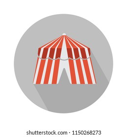 carnival camping tent isolated, Dome tent, Camping Equipment. festival tent