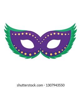 carnival mask accessory icon