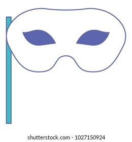 carnival mask celebration icon