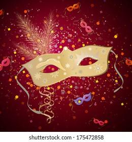 Carnival mask - vector