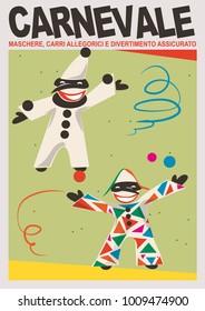 carnival. masks, allegorical wagons and guaranteed fun