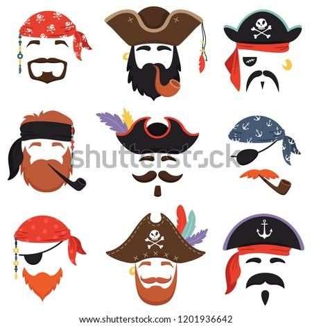 Carnival pirate mask Funny