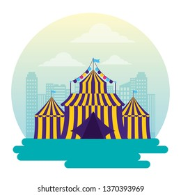 carnival tent amusement