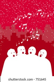 Carolling in the city