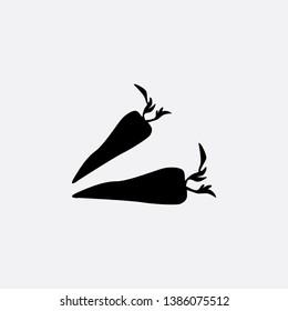carot icon sign signifier vector