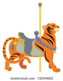 Carousel Animal Tiger