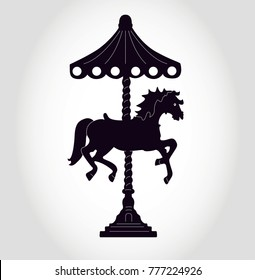 Black & White Carousel Images, Stock Photos & Vectors | Shutterstock