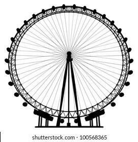 Carousel Silhouette Vector 20