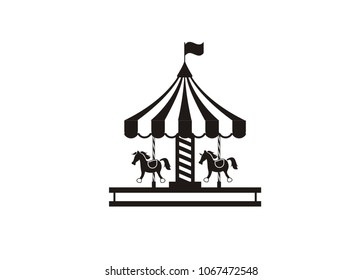 carousel simple illustration
