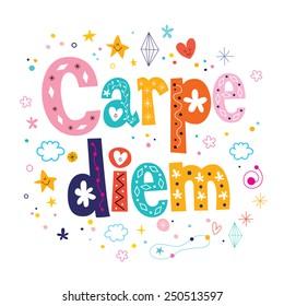 carpe diem phrase motivational quote