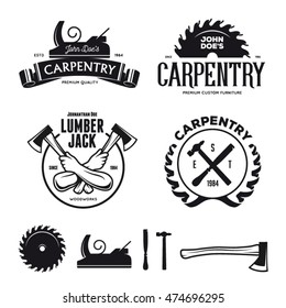 Royalty Free Carpenter Logo Images Stock Photos Vectors