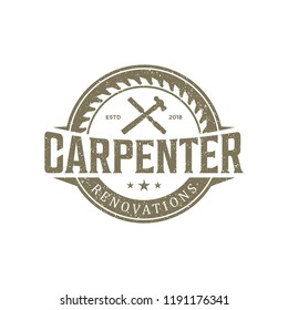 carpenter logo vintage