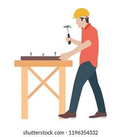 A carpenter to make furniture