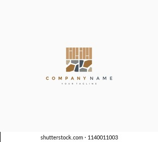 carpentry design logo template