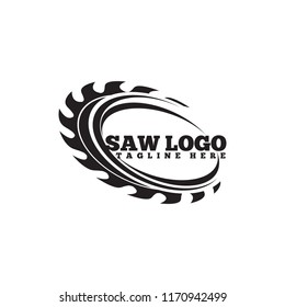 Carpentry Saw logo vector template