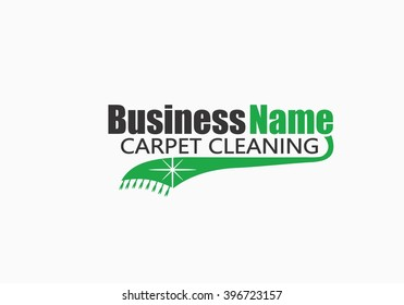 Carpet Cleaning Business Logo