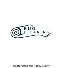 carpet cleaning and restoration vector logo