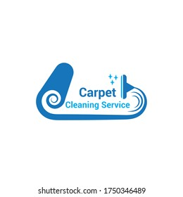 Carpet Logo - Carpet Cleaning Service Logo Template
