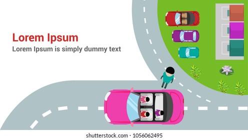 carpool ad design