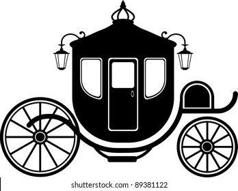 Carriage in Silhouette