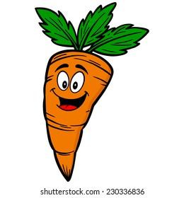 cartoon carrot images  stock photos   vectors shutterstock Broccoli Clip Art Corn Clip Art