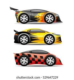 Cars set.