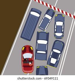 Cars in Traffic/Block