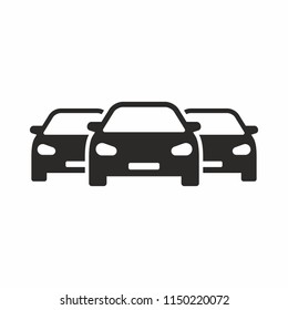 Cars vector icon