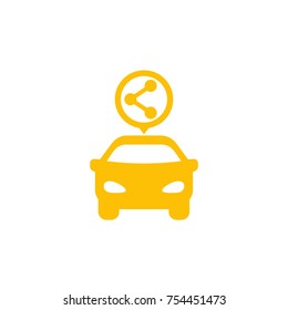 carsharing service icon