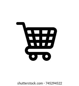cart icon, cart icon vector, in trendy flat style isolated on white background. cart icon image, cart icon illustration