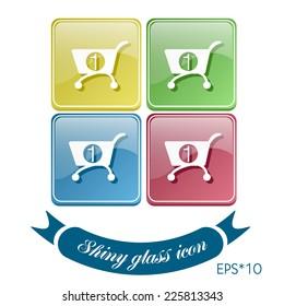 cart online store, Internet shop. basket shopping