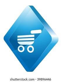 cart vector web site icon