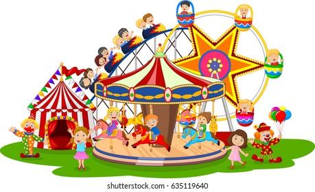 Carton amusement Park