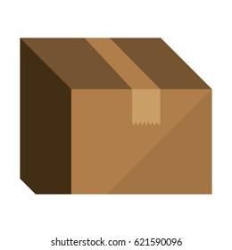 carton box packing icon