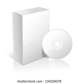 carton box for software and disc