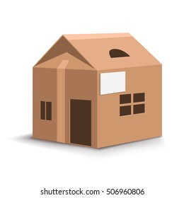 Cardboard House Images Stock Photos Vectors Shutterstock