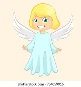 cute angel cartoon images stock photos vectors shutterstock rh shutterstock com cartoon angel images cartoon baby angel images