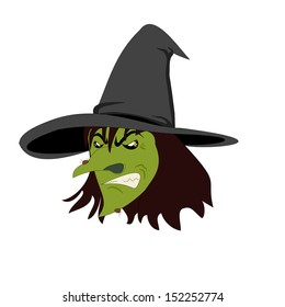abb19fec29634 cartoon angry witch