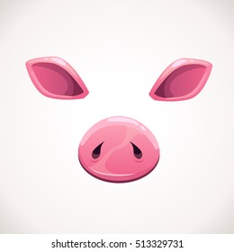 pig nose images stock photos vectors shutterstock
